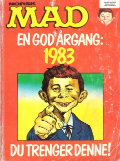 Go to MAD Årgang Bound Volumes #2 • Norway • 1st Edition - Williams