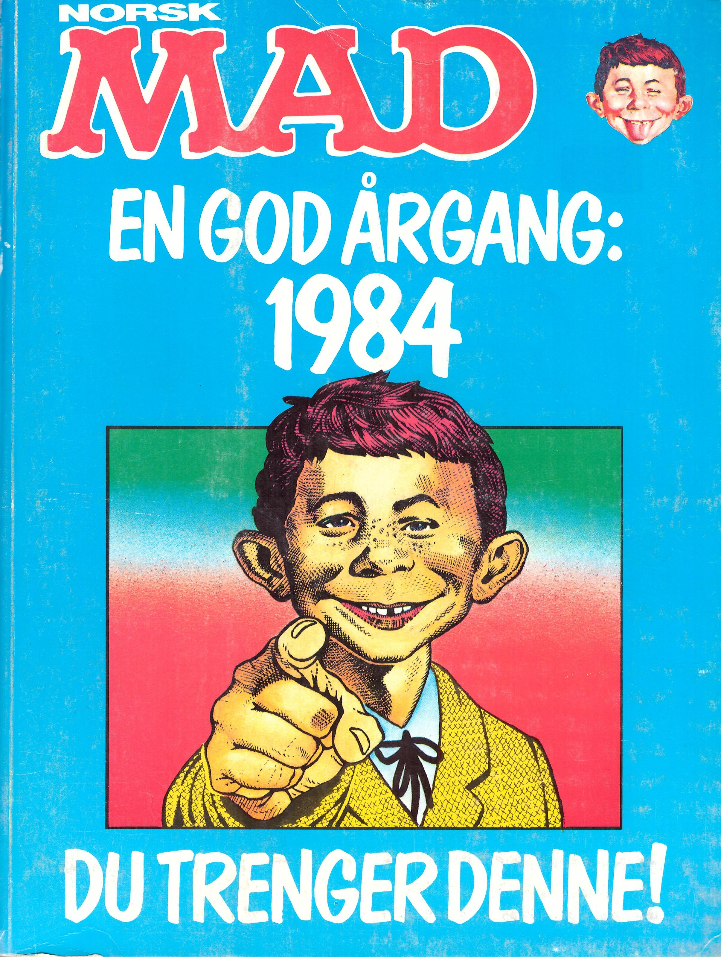 MAD Årgang Bound Volumes #3 • Norway • 1st Edition - Williams