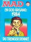 Norwegian MAD Årgang Bound Volumnes #1984 Publication Date: 1984