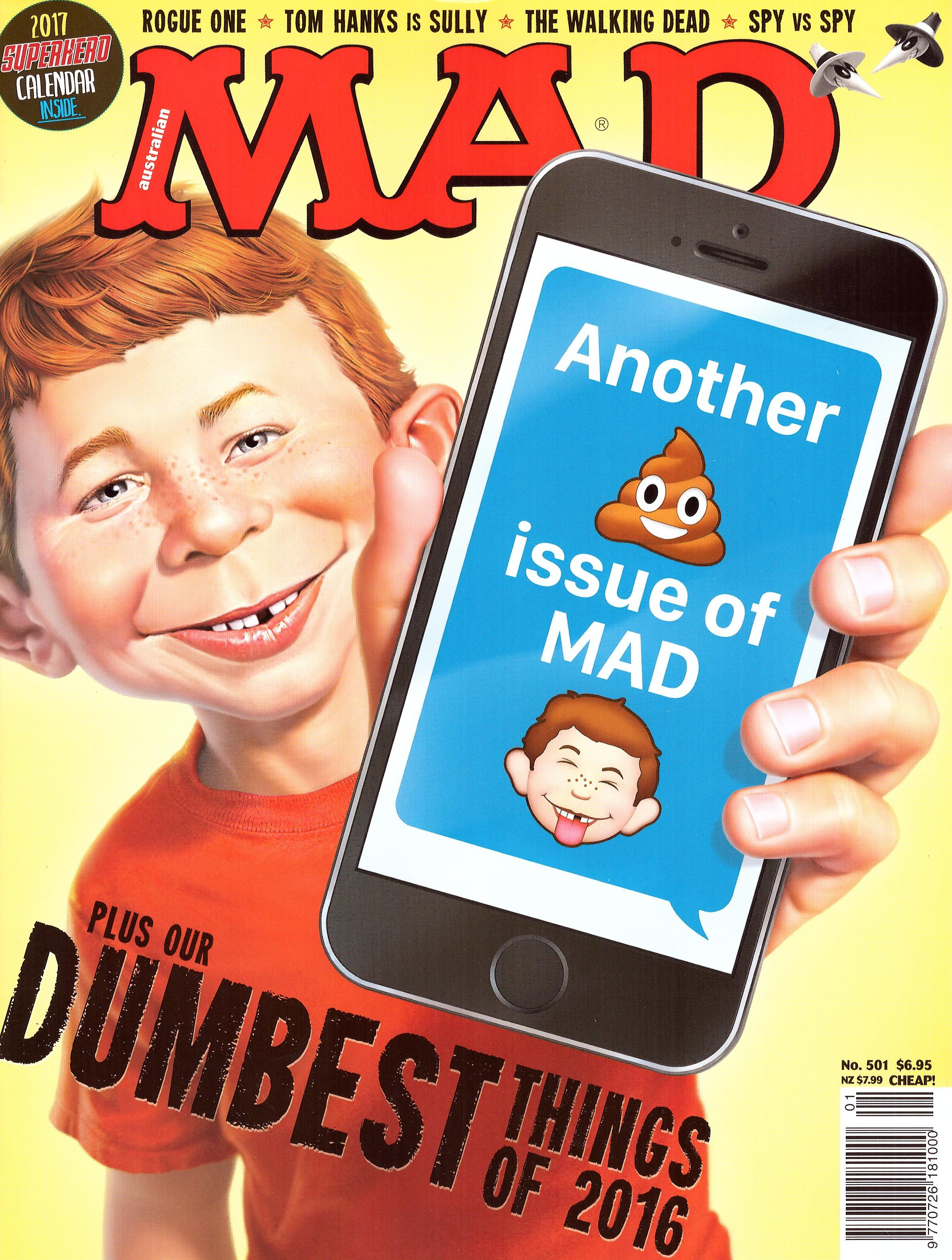 MAD Magazine #501 • Australia