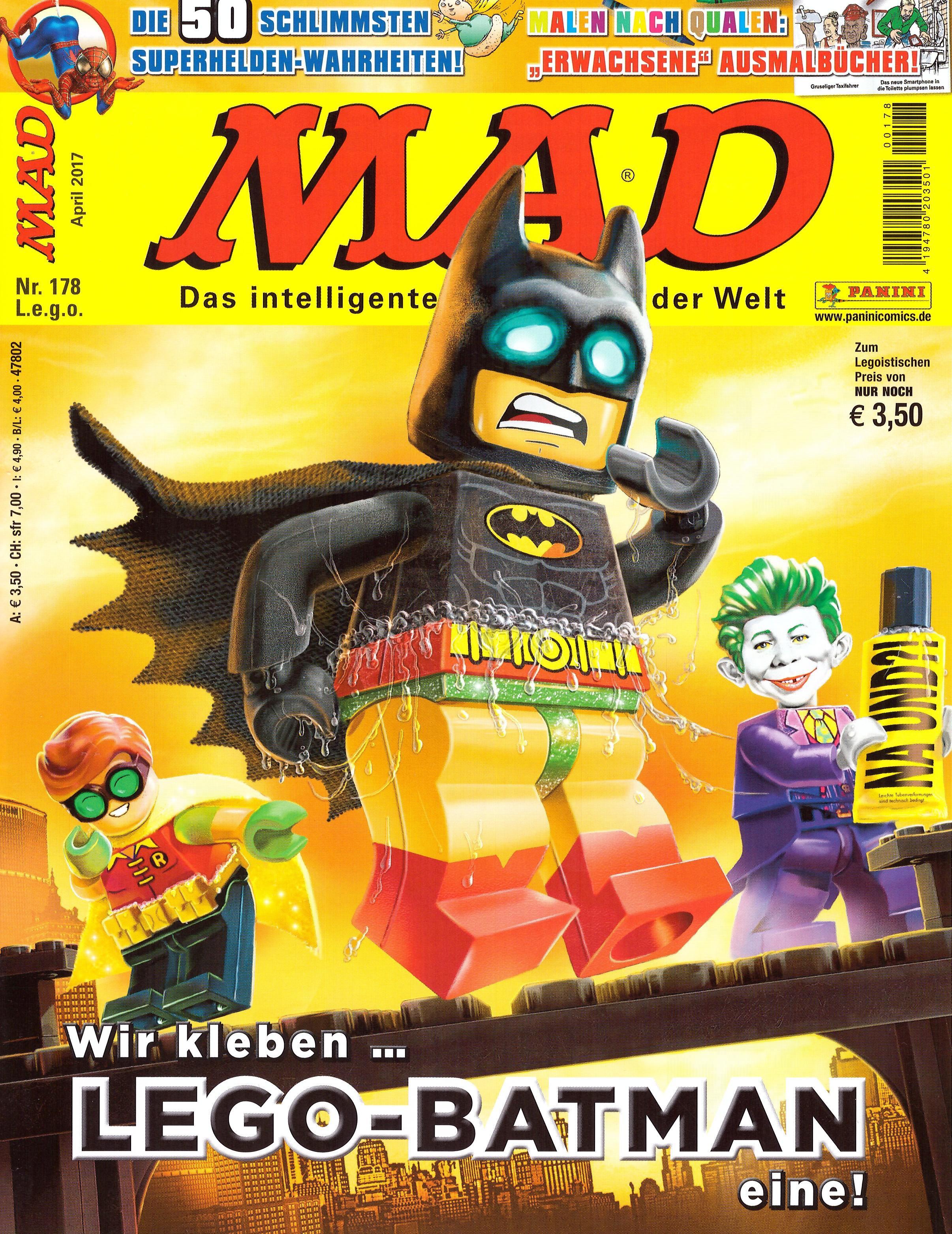 MAD Magazine #178 • Germany • 2nd Edition - Dino/Panini