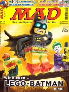 Go to MAD Magazine #178 • Germany • 2nd Edition - Dino/Panini