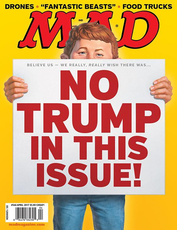 MAD Magazine #544 • USA • 1st Edition - New York