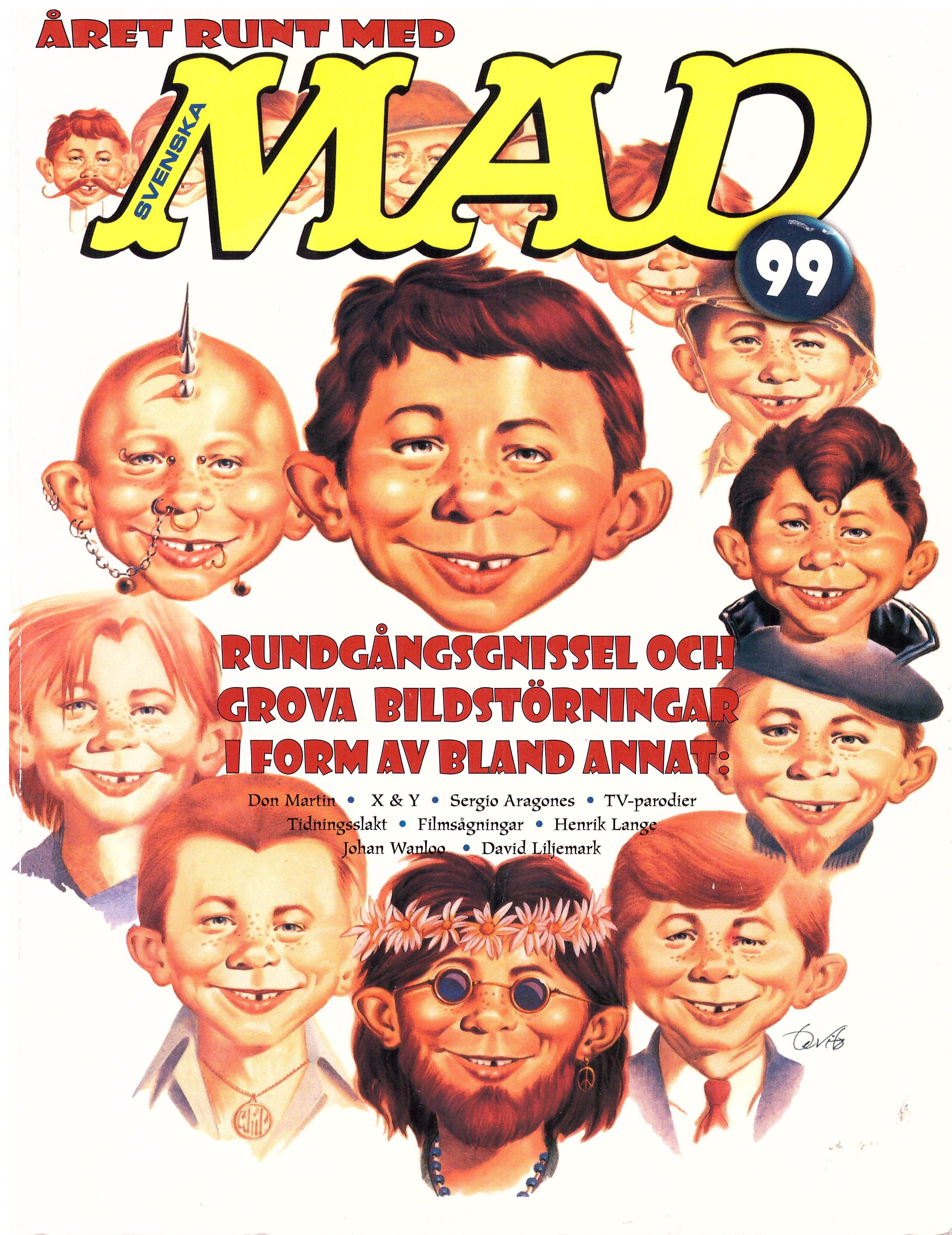 MAD Inbundna årgång • Sweden • 1st Edition