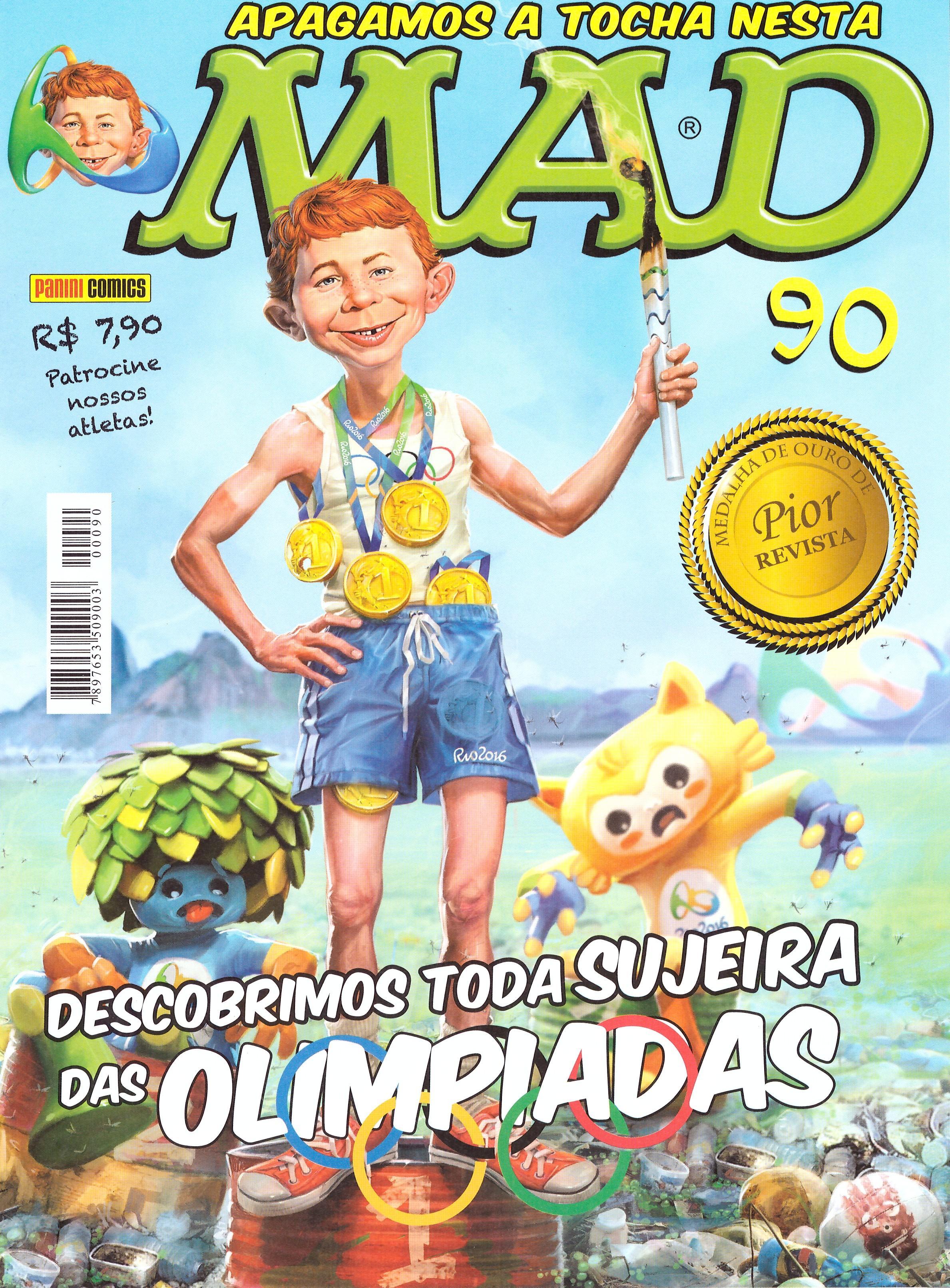 MAD Magazine #90 • Brasil • 4th Edition - Panini