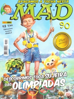 Brasilian MAD Magazine #90