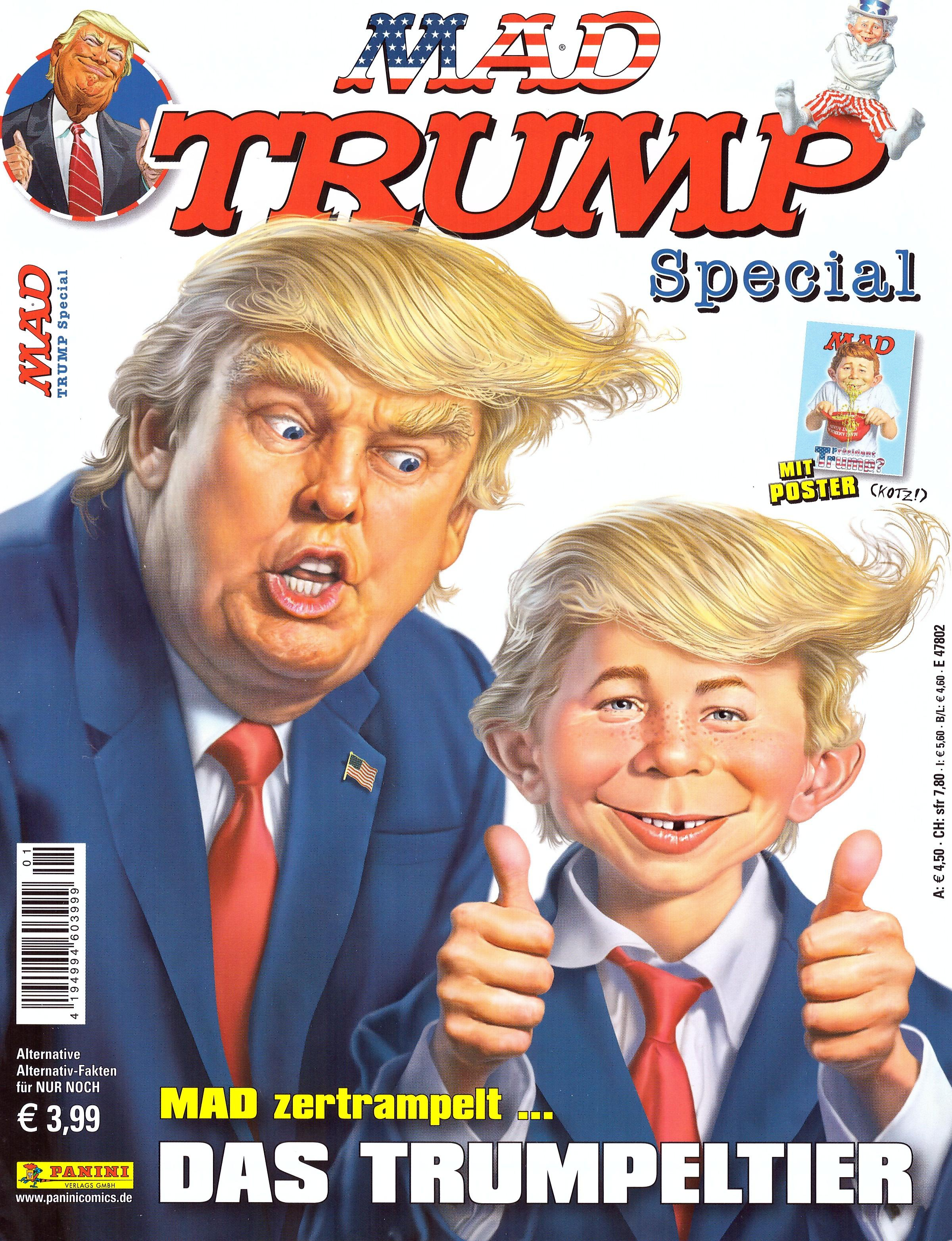 MAD Trump Special #1 • Germany • 2nd Edition - Dino/Panini