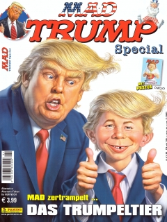 Go to MAD Trump Special #1 • Germany • 2nd Edition - Dino/Panini
