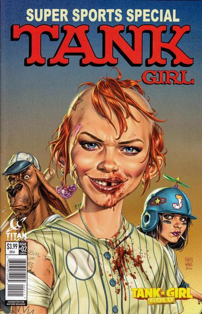 Tank Girl: Gold (MAD spoof cover) #2 • Great Britain