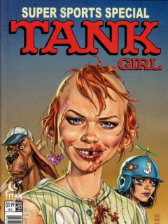 Go to Tank Girl: Gold (MAD spoof cover) #2 • Great Britain