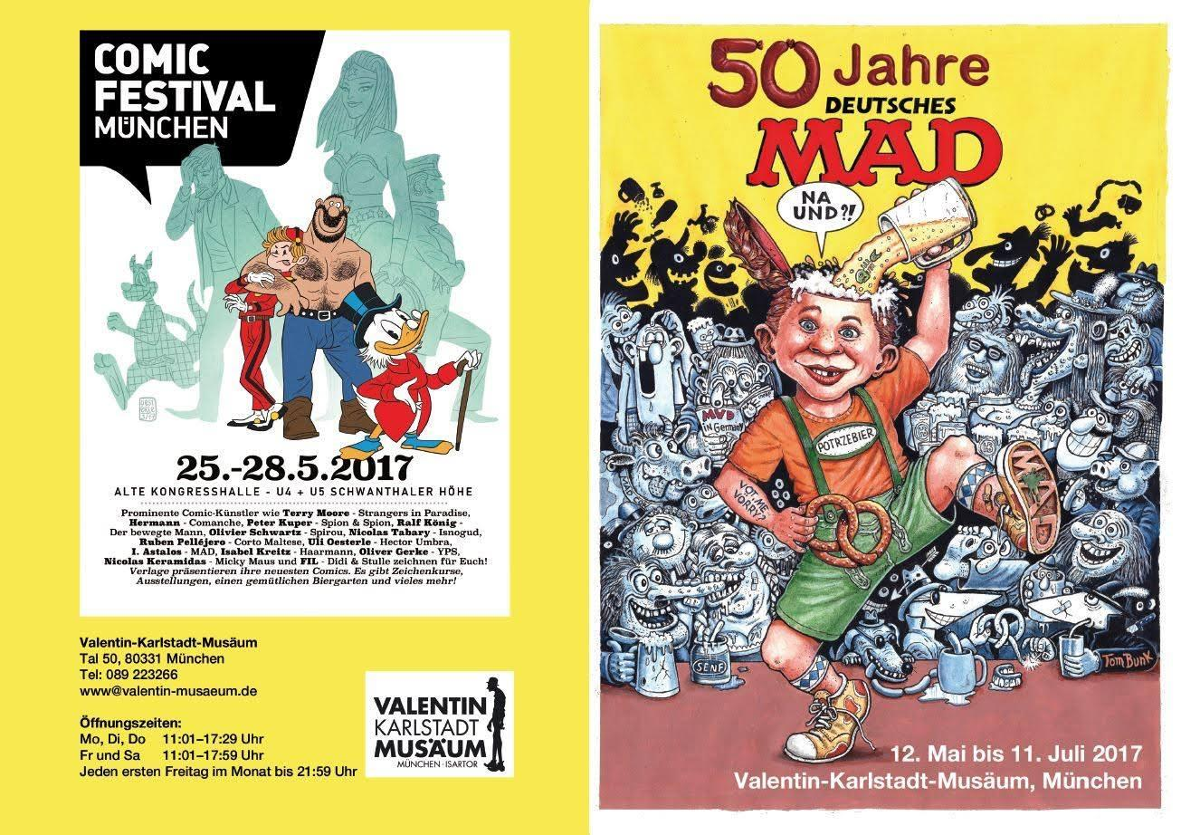 Comic Convention Munich Promotion Poster • Germany