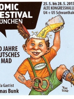 Comic Festival Germany Promotional Sticker • Germany
