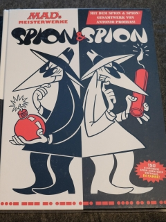 Go to MADs Meisterwerke: Spion & Spion: Mit dem Gesamtwerk von Antonio Prohias! • Germany • 2nd Edition - Dino/Panini
