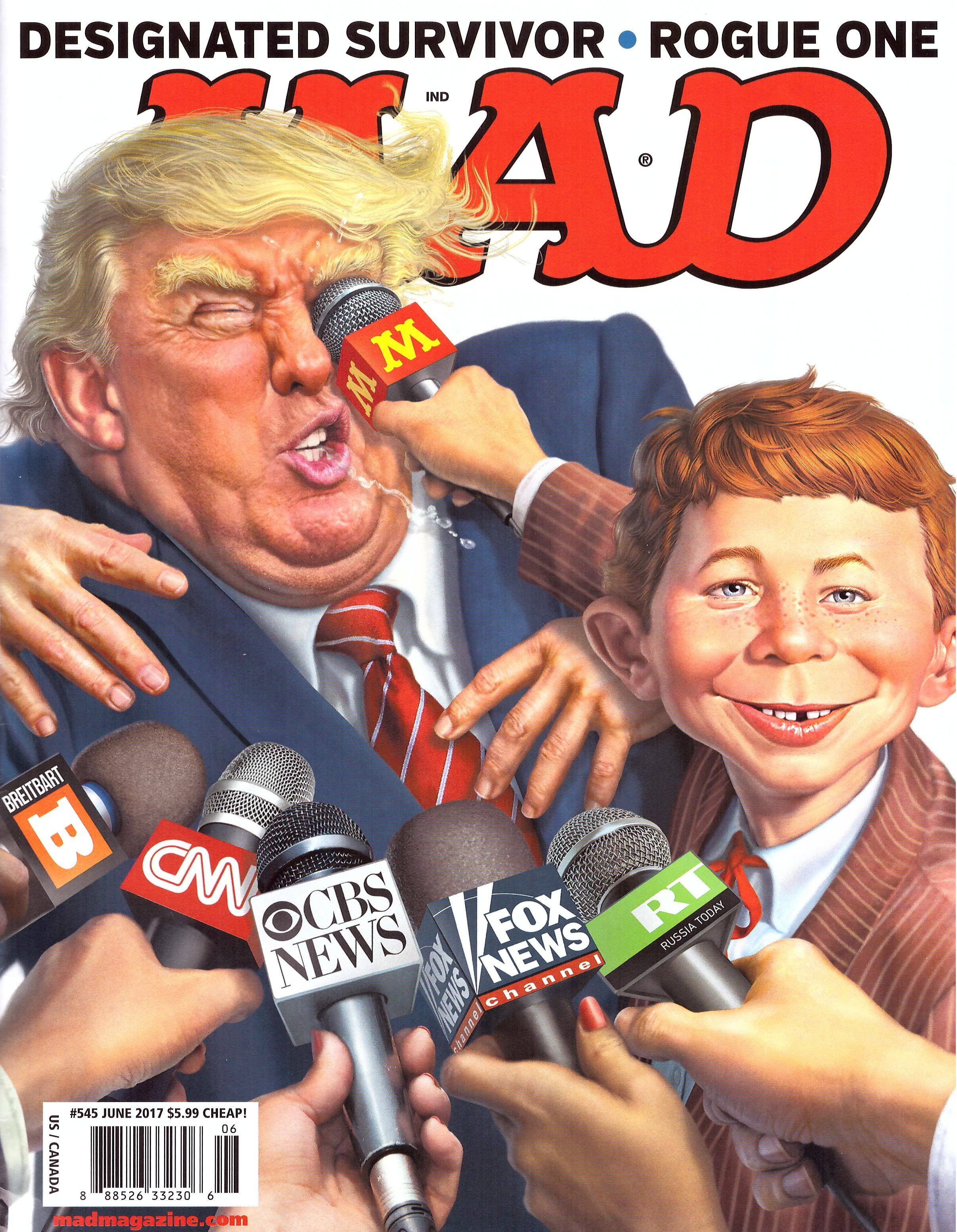 MAD Magazine #545 • USA • 1st Edition - New York