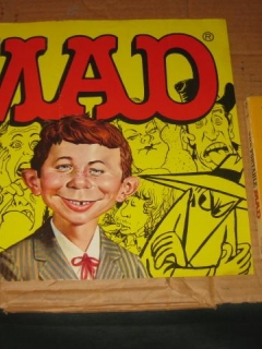 Certifiably MAD Collection Paperback Boxed Set Store Display Poster • USA