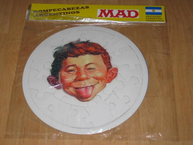 Sealed Argentina MAD Magazine Puzzle Premium • Argentina