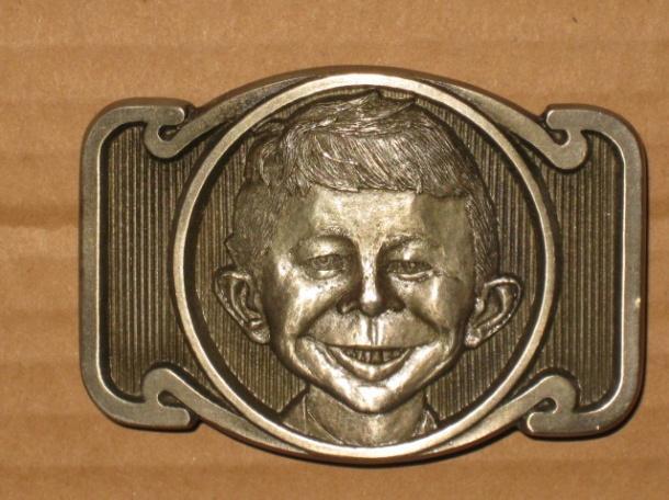 Belt Buckle Prototype Alfred E. Neuman • USA