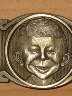 Go to Belt Buckle Prototype Alfred E. Neuman • USA