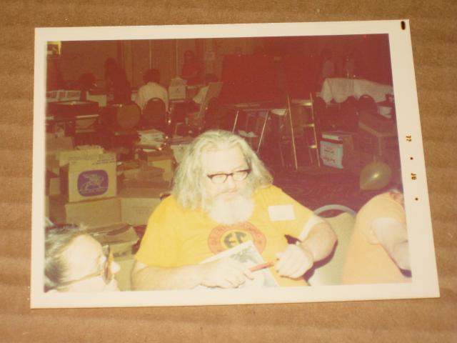 Photograph William M. (Bill) Gaines Original Color • USA