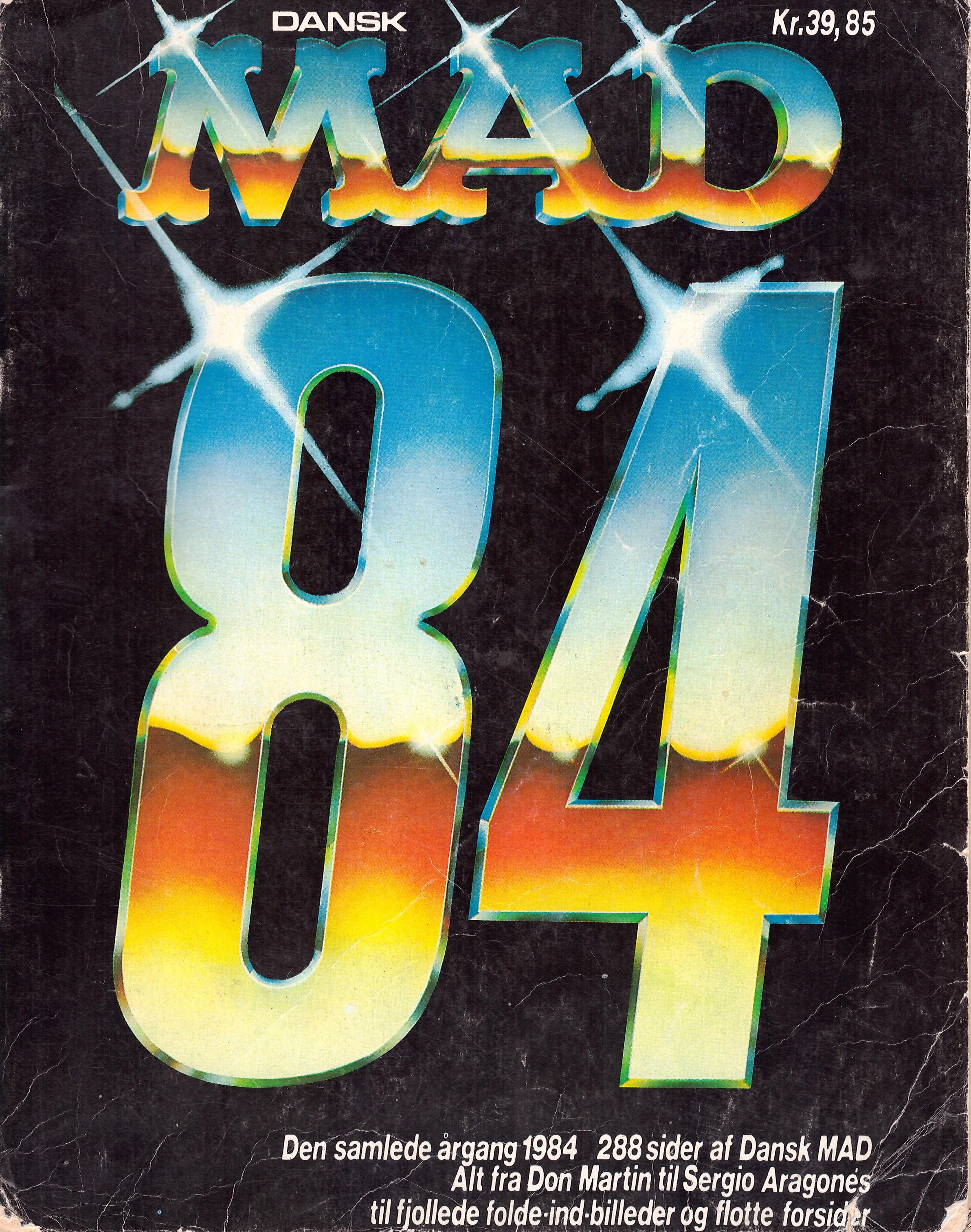 Dansk MAD 84  • Denmark • 2nd Edition - Semic