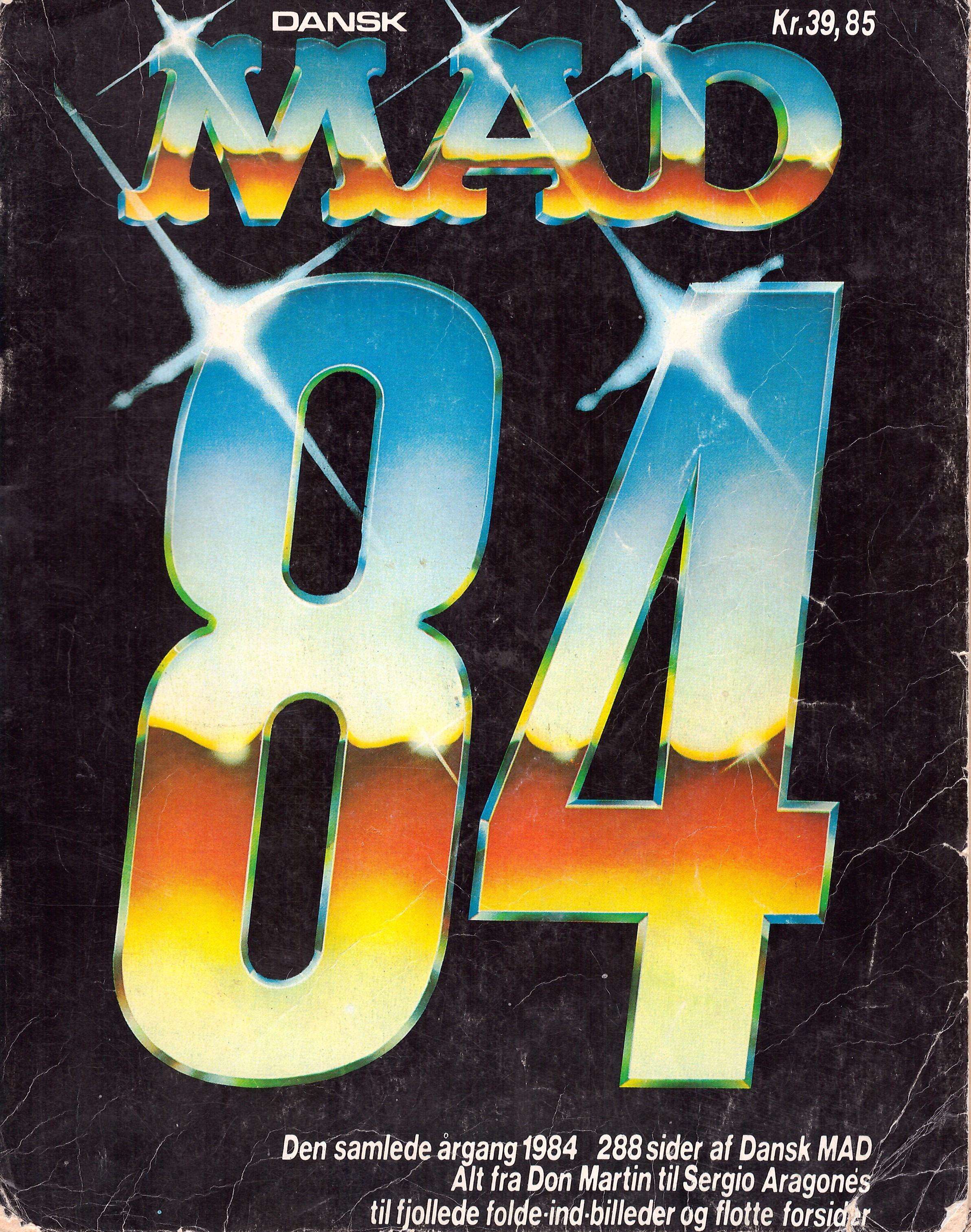 Dansk MAD 84  • Denmark • 2nd Edition - Semic