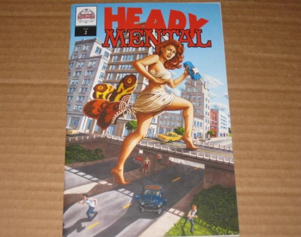 Heady Mental (MAD Magazine Parody Issue) #2 • USA