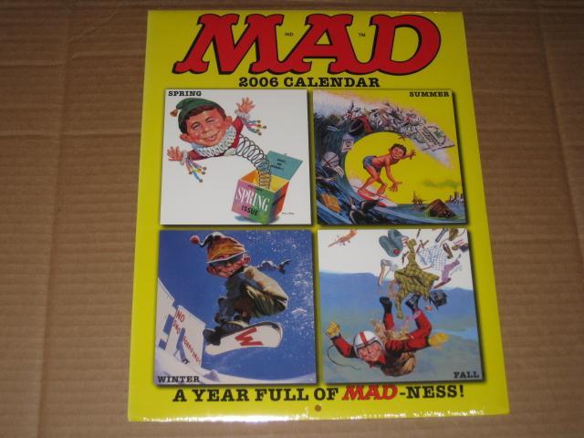 Calendar 2006 MAD Magazine • USA