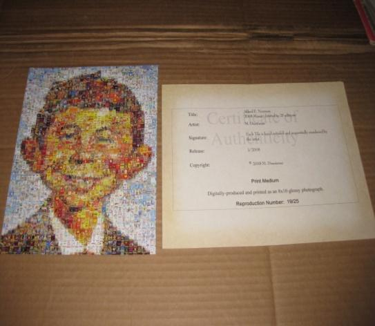 Photo Mosaic Alfred E. Neuman (Limited Edition - 19/25)  • USA