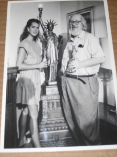 Go to William M. (Bill) Gaines / Brooke Shields Original B/W Photograph