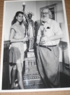 Image of Photograph William M. (Bill) Gaines / Brooke Shields Original B/W