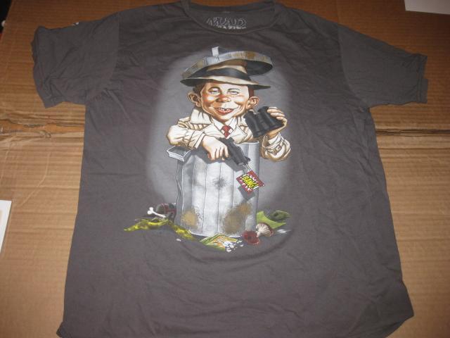 T-Shirt Alfred E. Neuman / International Spy Museum • USA