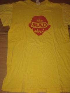 """T-Shirt 1966 """"The MAD Show"""" Original Cast Member P.J.'s Theatre • USA"""