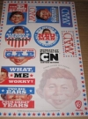 US MAD Magazine / Alfred E. Neuman / Cartoon Network Sticker Sheet Poster Manufactor: E.C. Publications and Warner Brothers Entertainment Publication Date: 2010