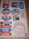 Sticker Sheet Poster MAD Cartoon Network series