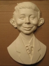 Resin Bust Casting Alfred E. Neuman