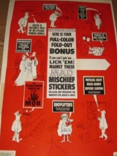 Go to MAD Mischief Stickers Original Art / MAD Special #6 / Signed Al Jaffee