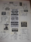 Image of MAD Mischief Stickers Original Art / MAD Special #6 / Signed Al Jaffee
