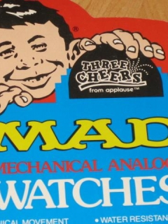 MAD Watches Original Display Stand • USA