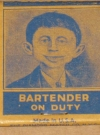 Image of Matchbook Pre-MAD Magazine / Alfred E. Neuman