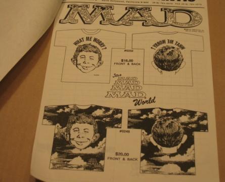 Catalog - Order Form MAD Magazine / Stanley DeSantis • USA