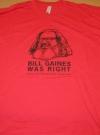Bill Gaines / Comic Book Legal Defense Fund T-Shirt (USA) Publication Date: 2013
