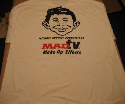 T-Shirt MAD Magazine / MAD TV Promotional • USA