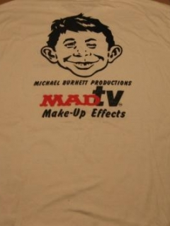 Go to MAD Magazine / MAD TV Promotional T-Shirt