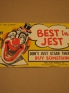Fred Alan Novelty Company Advertising Poster w/ What- Me Worry? (USA) Manufactor: Fred Alan Novelty Company Publication Date: 1950
