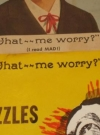 Image of Fred Alan Novelty Company Advertising Poster w/ What- Me Worry?