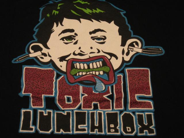 T-Shirt Toxic Lunchbox Promotional w/ Alfred E. Neuman • USA