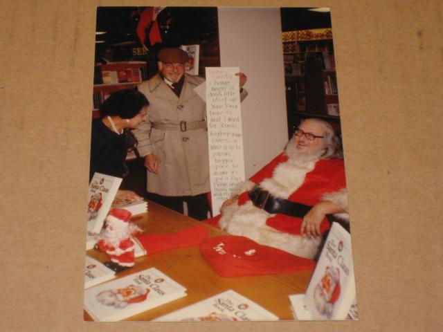Picture Original Color - Bob Clarke & Bill Gaines As Santa Claus • USA