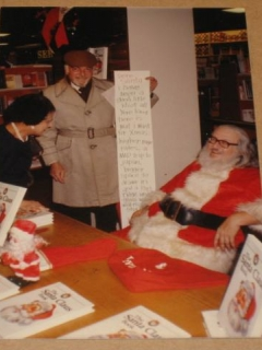 Go to Bob Clarke & Bill Gaines As Santa Claus - Original Color Picture