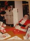 Bob Clarke & Bill Gaines As Santa Claus - Original Color Picture (USA)