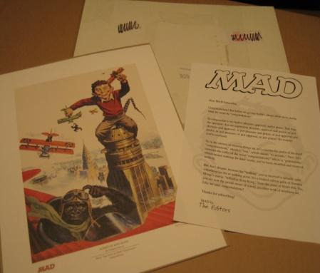 MAD Magazine Subscription Premium Print - Soul Of MAD Collection • USA